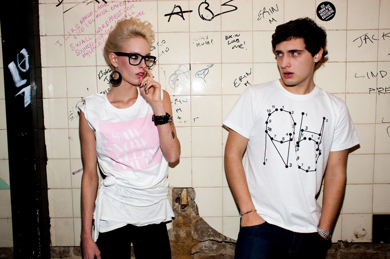 Fotoshoot for Oh No. T-Shirt Label and Creative Collective from Berlin-Kreuzberg